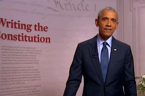 Barack Obama DNC