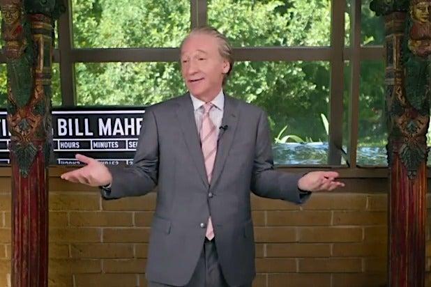 Bill Maher monologue jokes donald trump kamala harris