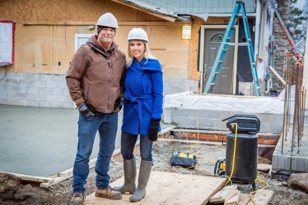 "Bryan and Sarah Baeumler on HGTV's ""Renovation Inc."""