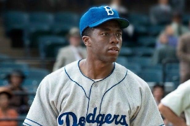 Chadwick Boseman 42 Jackie Robinson