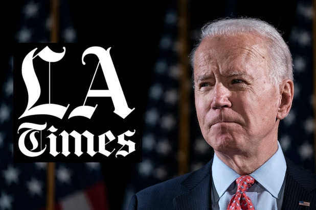 LA Times Chewed Out for 'Blatantly Sexist' Headline Comparing Biden Campaign to 'The Bachelor'
