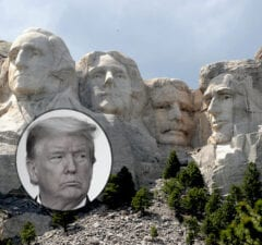 Mount Rushmore Donald Trump