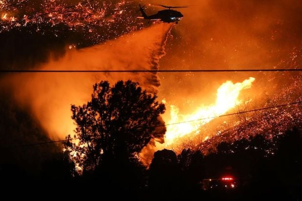 Lake Hughes fire