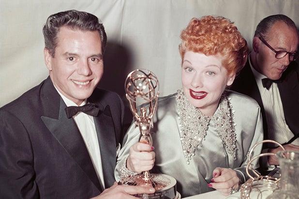 Desi Arnaz and Lucille Ball Emmys