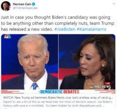 Herman Cain Twitter Account Aug 12