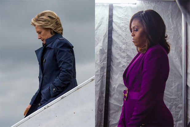 Hillary Clinton Michelle Obama Becoming