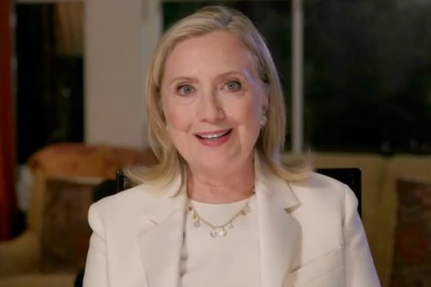"""Hillary Clinton's upcoming podcast, an interview-style show called """"You and Me Both With Hillary Clinton,"""" will launch next week. The 24-episode podcast will debut Sept. 29 and is produced by iHeartMedia. The show will feature Clinton interviewing various gue…"""