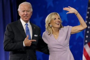 Joe Biden Accepts Party's Nomination For President In Delaware During Virtual DNC