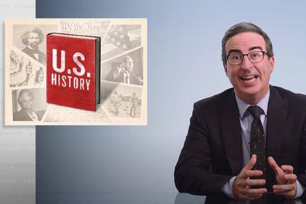 John Oliver on U.S. history