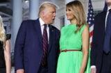 Melania Trump Green Screen Dress RNC 2020