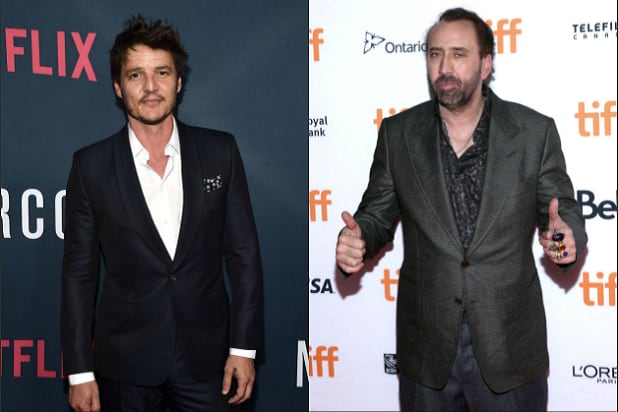 Pedro Pascal Nicolas Cage The Unbearable Weight of Massive Talent
