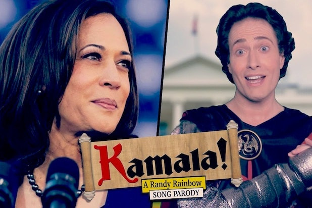 Randy Rainbow Kamala Harris