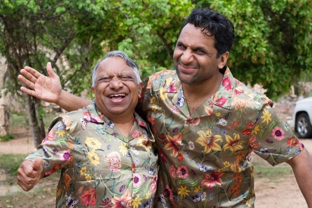 Ravi Patel and father Vasant
