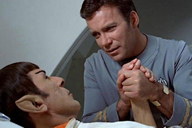 Spock Kirk Leonard Nimoy William Shatner Star Trek