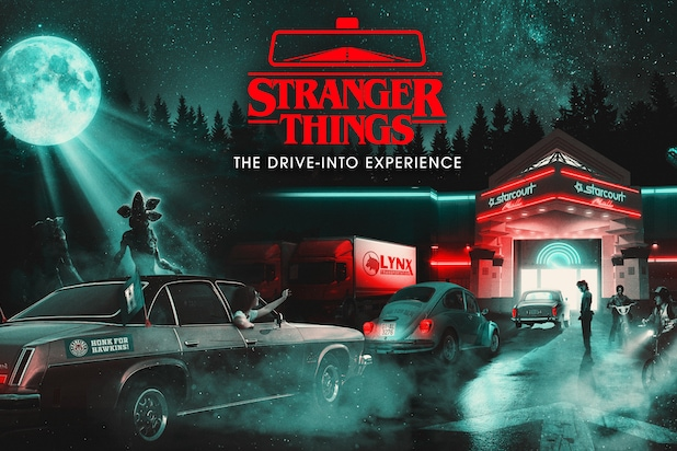 Stranger Things Drive Into