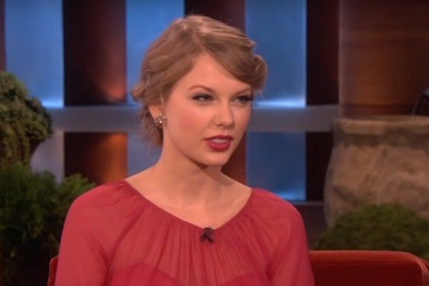 Taylor Swift Ellen DeGeneres