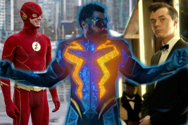 The Flash Black Lightning Pennyworth
