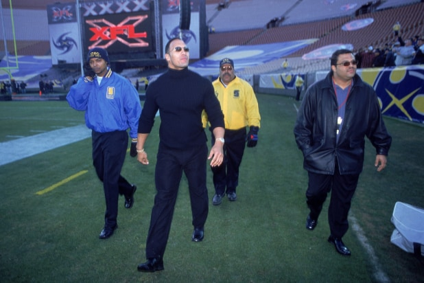 The Rock - XFL