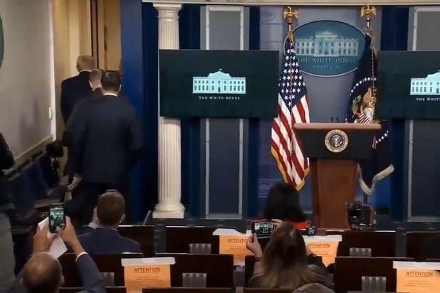 Trump Evacuated White House Shooting