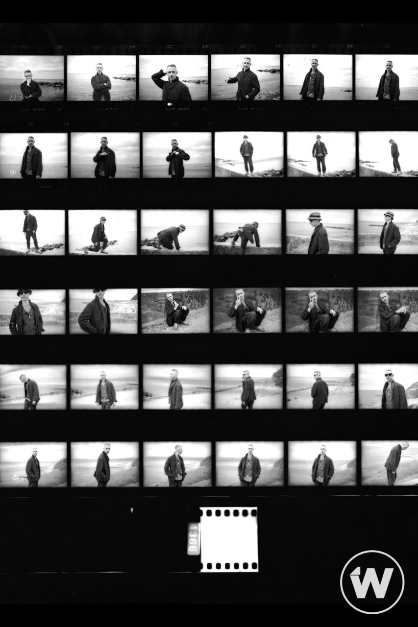 Jeremy Strong contact sheet