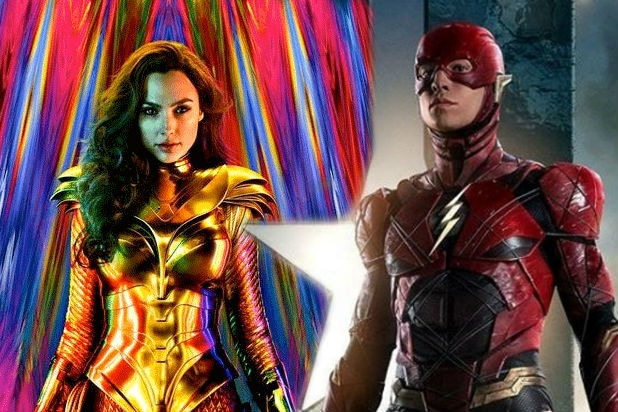 Wonder Woman and The Flash