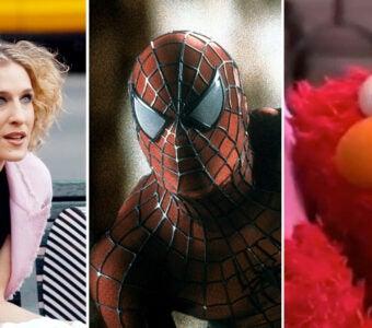 9/11 sex and the city spider-man elmo sesame street