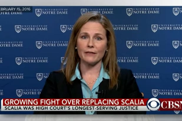 Amy Coney Barrett Said SCOTUS Justices Shouldnt Be...