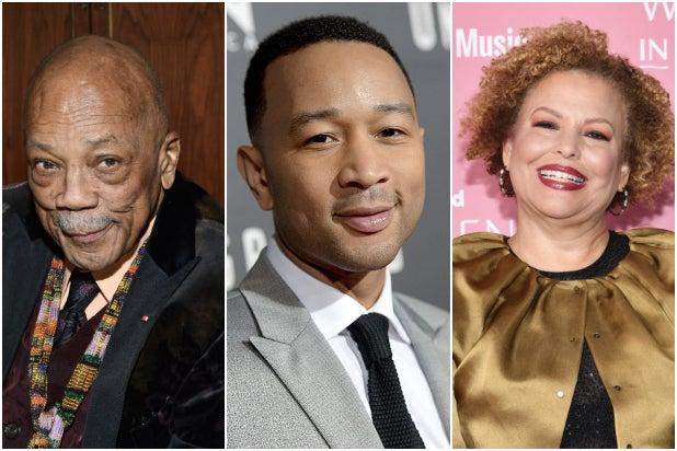 Black Music Collective Quincy Jones John Legend Debra Lee