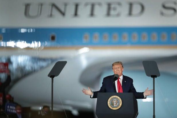 Donald Trump Michigan Rally CCR Fortunate Son
