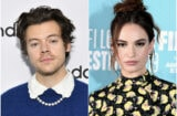 Harry Styles Lily James