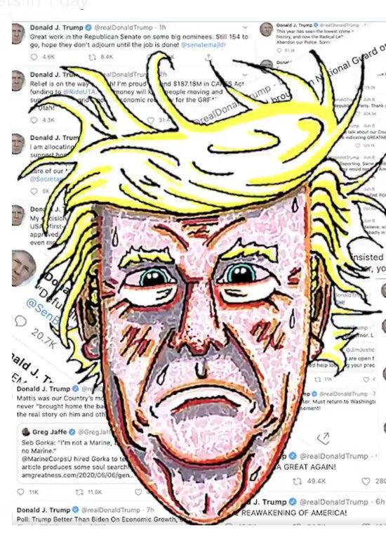 Jim Carrey Donald Trump June 17, 2020