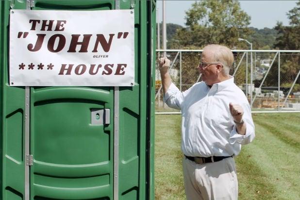 John Oliver Sewage Danbury Mayor