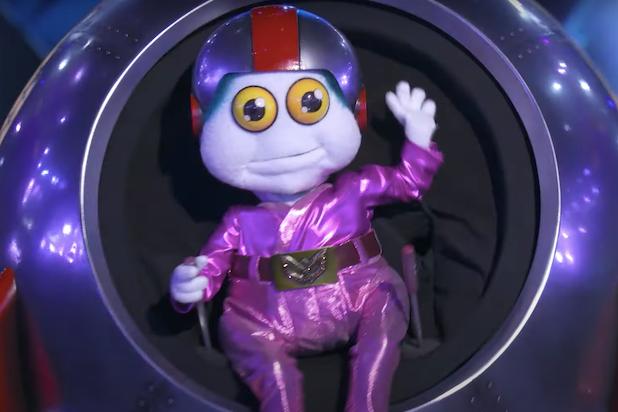 Masked Singer Baby Alien