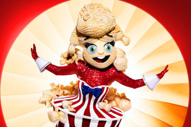 Masked Singer Season 4 Popcorn