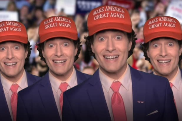 Randy Rainbow I'll Never Vote Trump MAGA hat