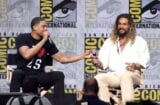 Justice League Ray Fisher Jason Momoa