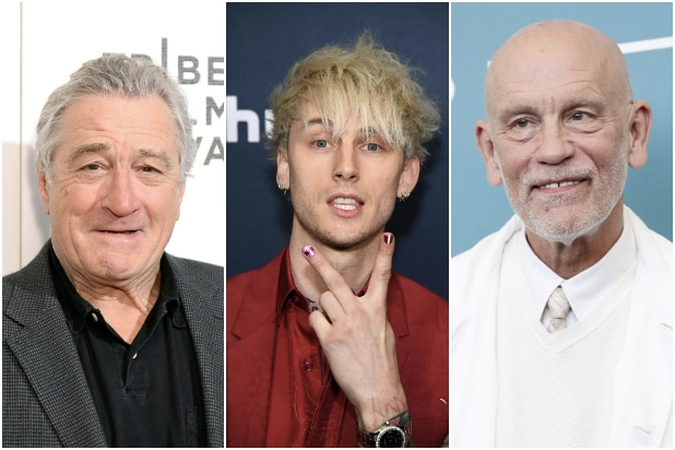 Robert De Niro Machine Gun Kelly John Malkovich Wash Me In The River