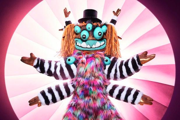 Squiggly Monster Masked Singer