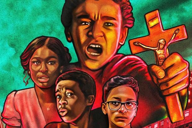 Vampires vs the Bronx Poster crop Netflix