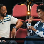 Will Smith and Janet Hubert at Fresh Prince Reunion
