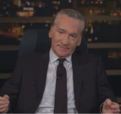 bill maher finds out about ruth bader ginsburg's death during taping of real time on hbo