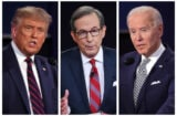 donald trump chris wallace joe biden first debate