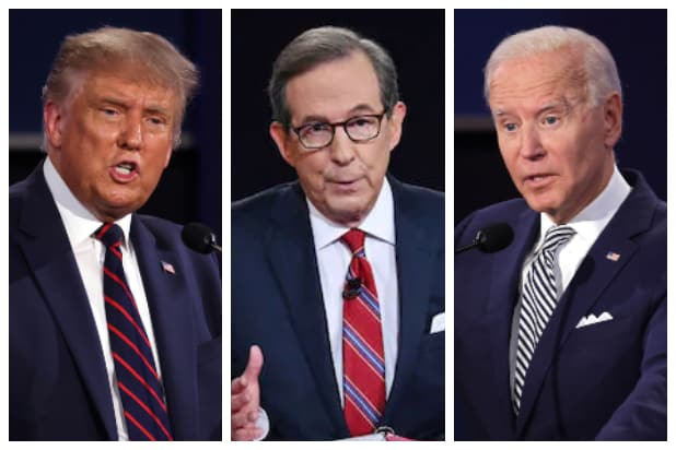 Chris Wallace Trump Bears The Primary Responsibility For What Happened At Debate