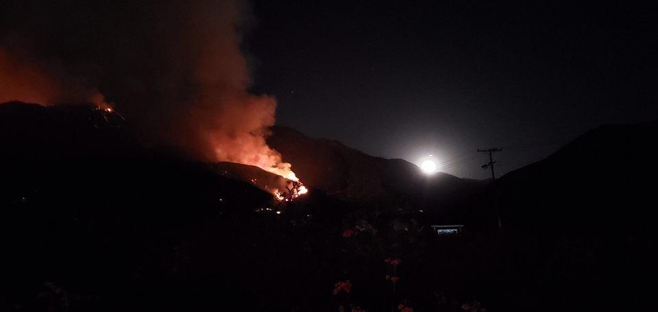 El Dorado Fire September 6, 2020