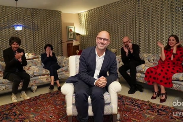 emmys jesse armstrong acceptance speech living room succession