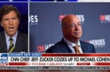tucker carlson is mad about michael cohen cnn interview which has not happened yet