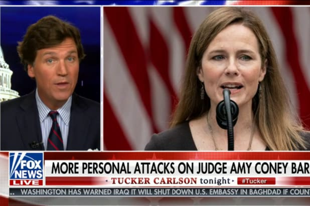 Tucker Carlson Says Liberals Hate Amy Coney Barrett...