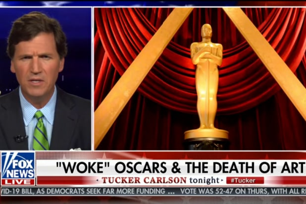 Tucker Carlson Is Very Mad About New Oscar Diversity Rules thumbnail