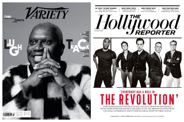 variety the hollywood reporter