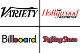 Variety, The Hollywood Reporter, Billboard and Rolling Stone